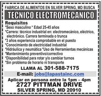 Técnico Electromecánico
