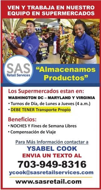 Ven y Trabaja en Nuestro Equipo en Supermercados