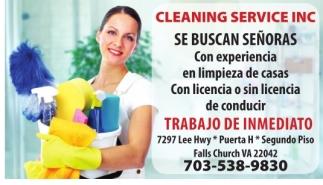 Señoras para Limpieza de Casas