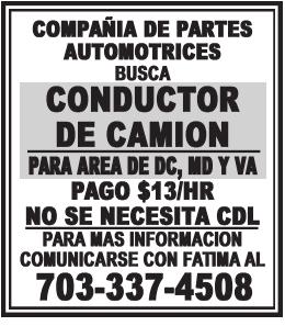 Conductor de Camion