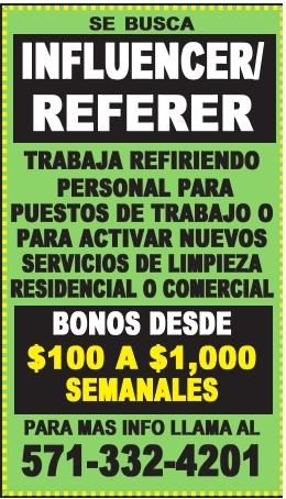 Influencer/Referer