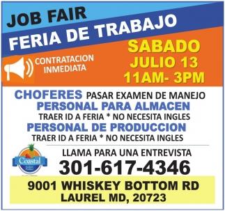 Feria de trabajo