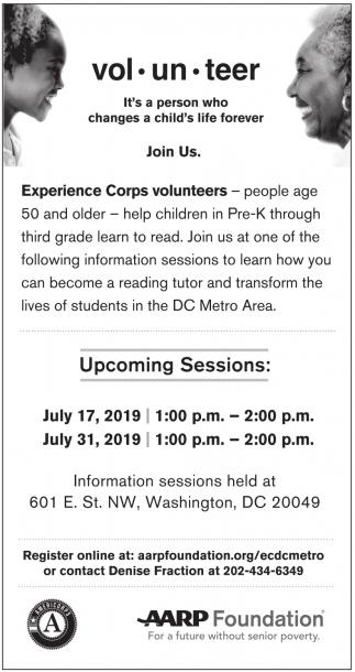 Experience Corps Volunteers