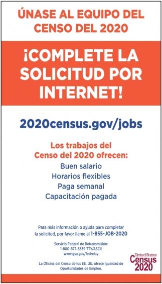 Unase al Equipo del Censo del 2020