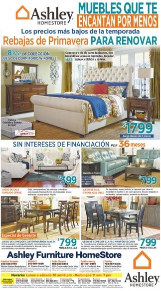 Muebles que te Encantan por Menos, Ashley Furniture HomeStore ...