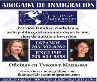 Abogada de Inmigracion