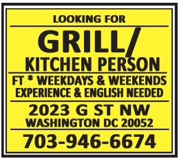 Grill / Kitchen Person
