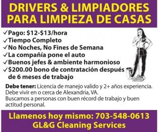 Drivers & Limpiadores