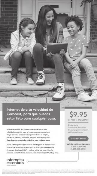 Internet de Alta Velocidad de Comcast