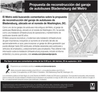 Propuesta de Reconstruccion del Garaje de Autobuses