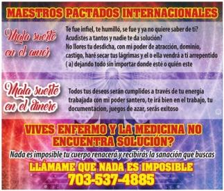 Maestros Pactados Internacionales