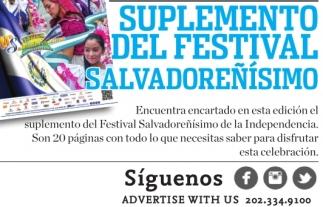 Suplemento del Festival Salvadoreñisimo