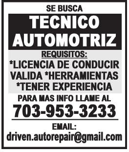 Tecnico Automotriz