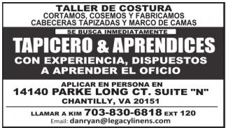 Tapicero & Aprendices