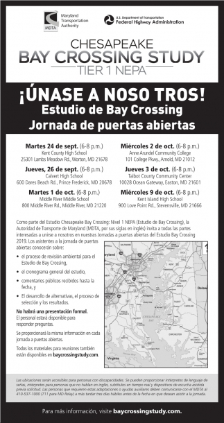 Chesapeake Bay Crossing Study