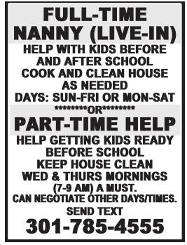 Full-Time Nanny