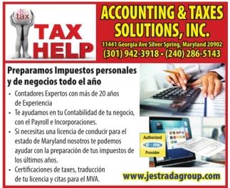 Tax Help
