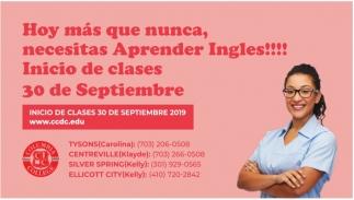 Inicio de clases 20 de Septiembre