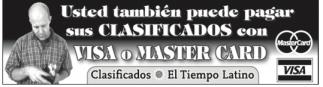 Visa o Master Card