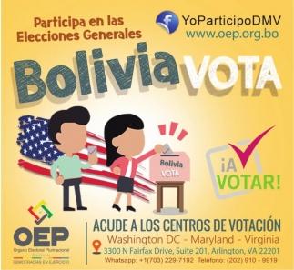 Participa en las Elecciones Generales Bolivia