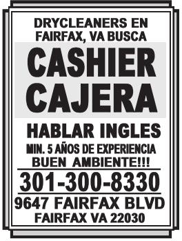 Cashier Cajera