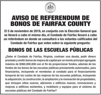 Aviso de Referendum
