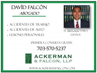 David Falcón - Abogado