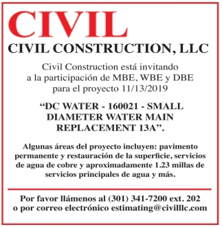 DC Water - 160021
