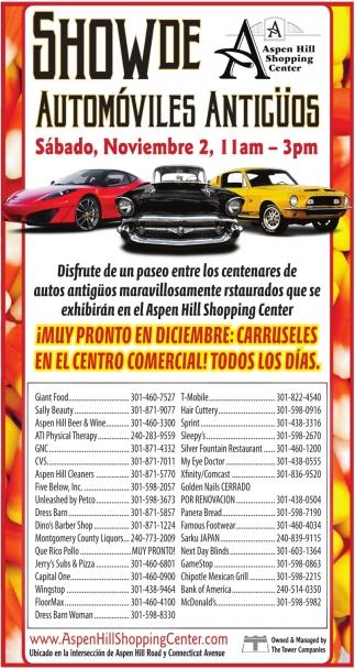 Show de Automobiles Antiguos
