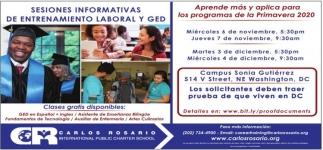 Sesiones Informaticas De Entrenamiento Labroal y Ged