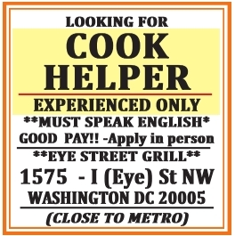 Cook Helper