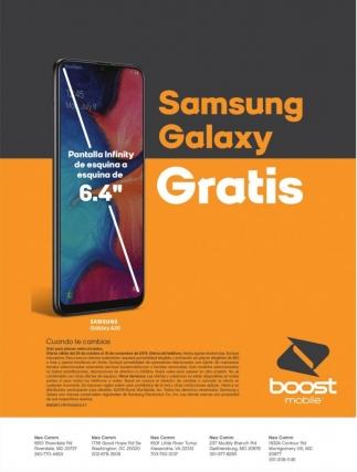 Samsung Galaxy Gratis