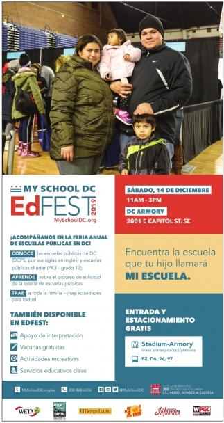 Acompañanos en la Feria Anual de Escuelas Publicas