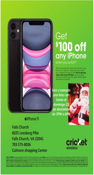 Get $100 Off any iPhone