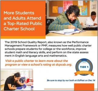 More Students and Adults are Attending Top-Rated Public Charter School