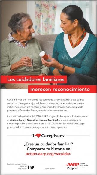 Los Cuidadores Familiares