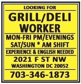 Grill/Deli Worker