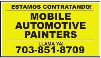 Mobile Automotive Painters