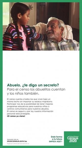 Para el Censo los Abuelitos Cuentan