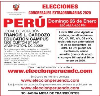 Elecciones Congresales