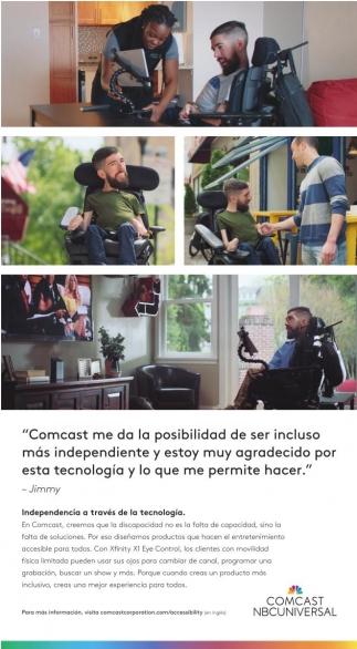 Independencia a Través de la Tecnologia