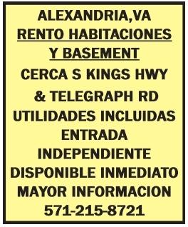 Rento Habitaciones y Basement