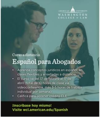 Español para Abogados