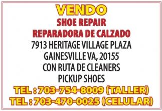 Vendo Shoe Repair
