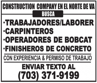 Trabajadores/Laborer