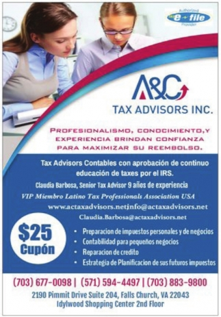 Preparacion de Impuestos Personales
