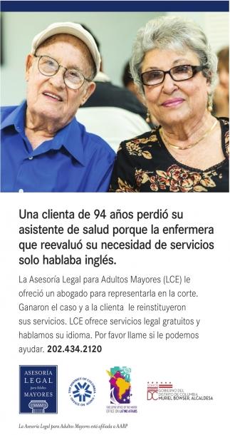 Una Clienta de 94 Años Perdio su Asistente de Salud