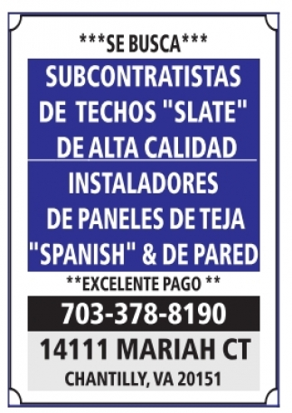 Subcontratistas / Instaladores