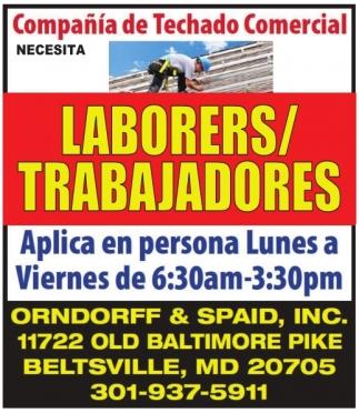 Laborers / Trabajadores