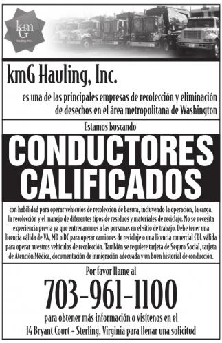 Conductores Calificados